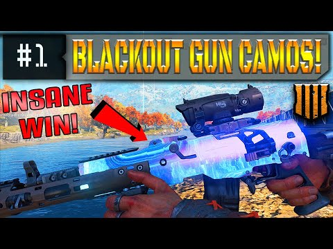 Blackout WEAPON CAMOS Are Live! New Gun Camos & An INSANE Victory!