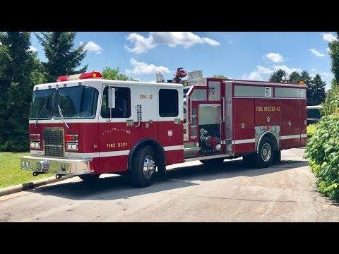 Riding In A Fire Truck! Cincinnati Fire Department, Ride Along