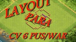 LAYOUT PARA CV6 PUSH/WAR