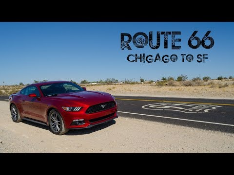Route 66 Time Lapse - Chicago to San Francisco in 3 min