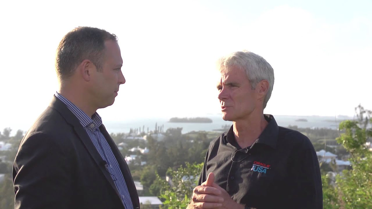 Global Fund Forum 2015 Hub Culture Bermuda with Grant Simmer, ORACLE TEAM USA