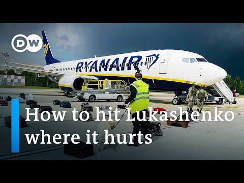 Belarus 'hijacks' Ryanair flight to arrest opposition activist   DW News