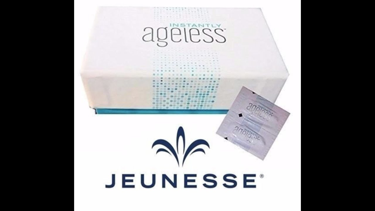 Gratis Proefmonster Free Sample Of Instantly Ageless Wrinkles From Jeunesse