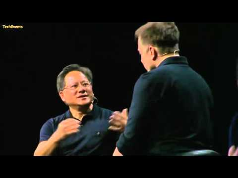 Elon Musk interview with NVIDIA CEO Jen Hsun Huang at GTC 2015