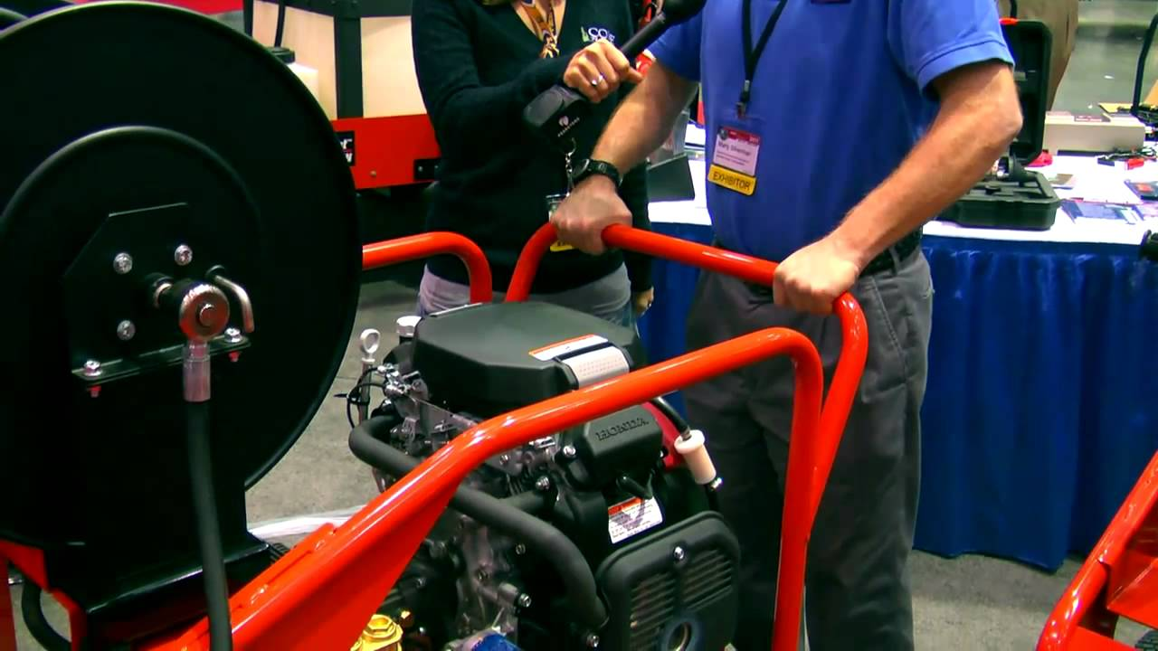 General Pipe Cleaners J 3080 Portable Jetter Smart