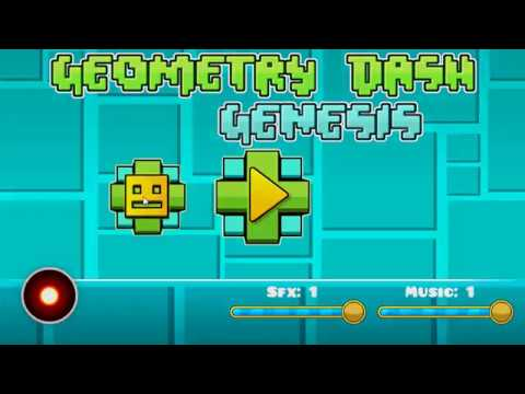 Geometry Dash Genesis - All Levels, Coins And Icons Unlocked (0.3)