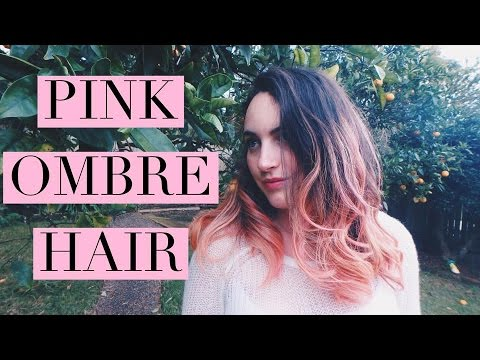Pastel pink ombre hair youtube solutioingenieria Gallery