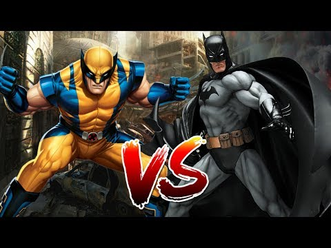 Batman VS Wolverine   Who Wins?