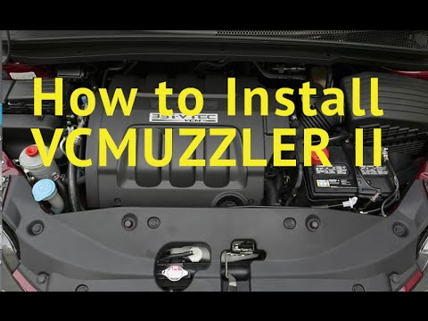HD 2016 2018 How to install VCM Muzzler II Honda Odyssey Pilot Vcmuzzler  Accord Civic