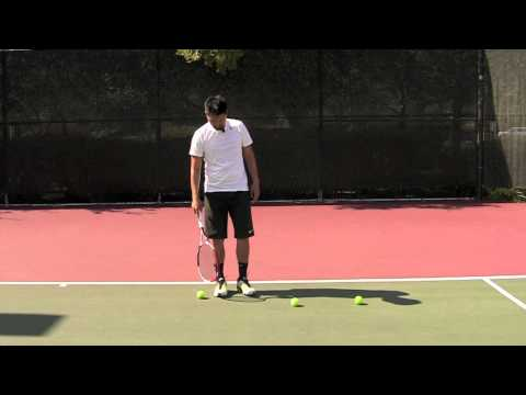 How to Pick Up the Tennis Ball like Rafael Nadal (Tutorial / Lesson) in HD