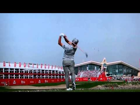 Pablo Larrazábal: Five wood at 18 Abu Dhabi HSBC Golf Championship (Abu Dhabi GC) January 19, 2014