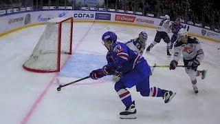 Tereshchenko and Koshechkin combine to deny Shirokov's chance
