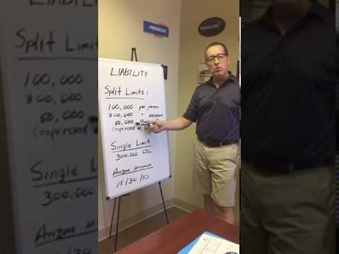 Liability Car Insurance part 1 - YouTube