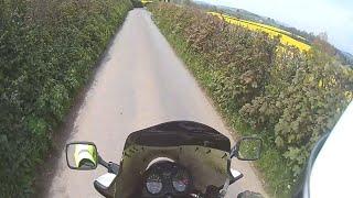 Eken H8R Action Camera Test Clip - Motorcycle Ride