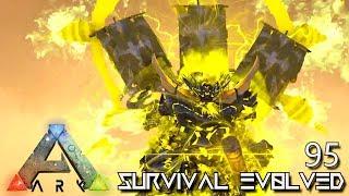 ARK: SURVIVAL EVOLVED - MYTH MAHATMA & FLAME ROSE E95 !!! ( ARK EXTINCTION CORE MODDED )