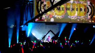 Basshunter-Intro and Partial Set(Live at Somewhere Loud 19/04/2014)