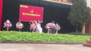 THPT Nho Quan A - Tạm Biệt Nhé - Guitar cover by Anh Quốc ft. Hằng Hải