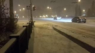Ночная Вологда Река Золотуха
