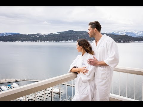 Romantic Escape on the Edge of Lake Coeur d'Alene