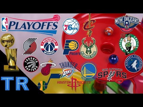 NBA Playoffs 2018 Marble Race Tournament: Who Will Win the NBA Finals? - Toy Racing