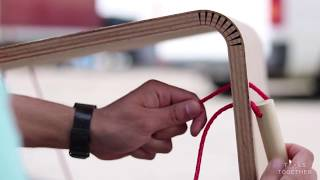// DIY HACK //  How to Bend Plywood? Easy to Build FURNITURE for KIDS.