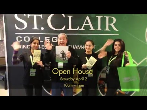 St. Clair College Open House