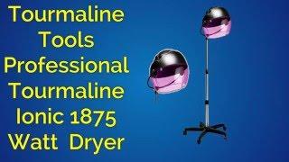 Hot Tools Bonnet Hair Dryer Tourmaline Tools 1059 Professional Tourmaline Ionic Salon Dryer