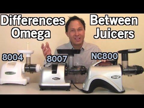 Hurom Juicer Vs Omega 8006 : Omega NC800 vs Slowstar Juicer Comparison Review: Orange Juice FunnyCat.Tv