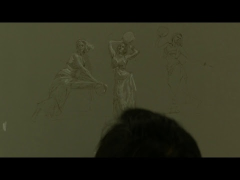 LIVE SNEAK PEAK Charles Hu Costume Figure Drawing Class Week 7