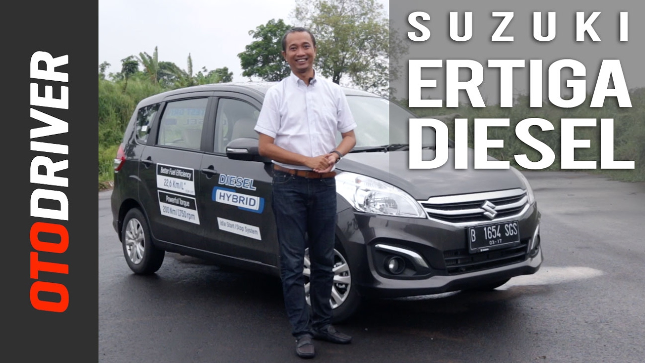 Suzuki Ertiga Diesel 2017 Review Indonesia | OtoDriver ...