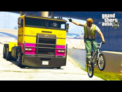 GTA V - RANDOM & FUNNY MOMENTS 65 (Brutal Knockouts, Closest Race Win!)
