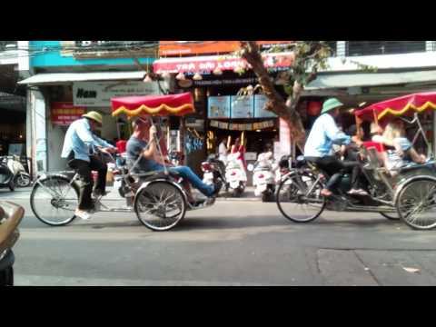 Peddle Power in Hanoi