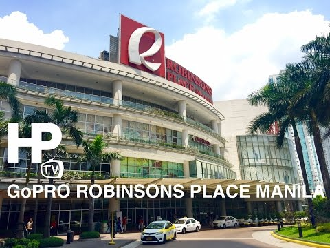 GoPro Robinsons Place Manila Mall Walking Tour Overview Manila by HourPhilippines.com