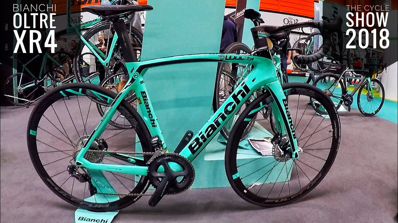 2d19bbaf334 Bianchi Oltre XR4 Disc - The Cycle Show 2018 - YouTube