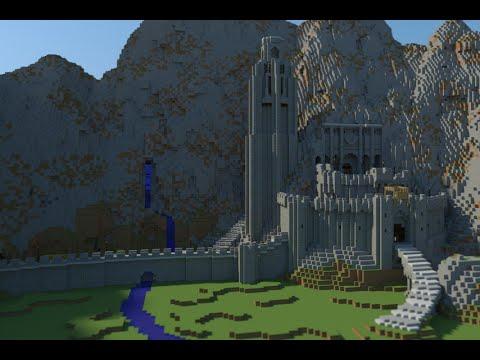 Helms Deep In Minecraft