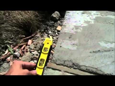 My Bad Concrete Job By Bob You