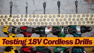 CORDLESS DRILLS - LEADING BRANDS PUT TO THE TEST
