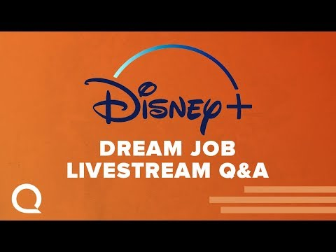 Disney+ Dream Job - Livestream Q&A