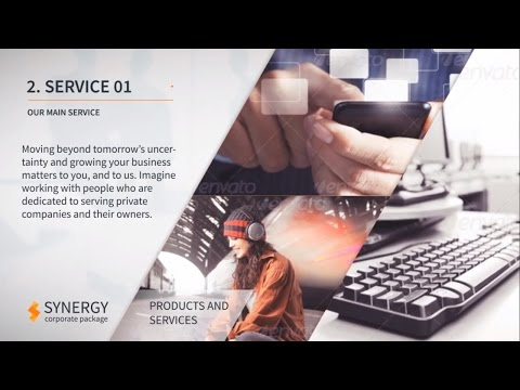 Corporate Services Video Presentation - After Effects Template