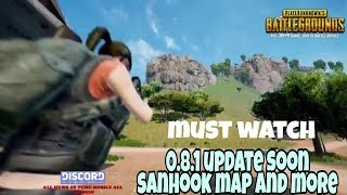 Pubg mobile 0.8.1 version trailer rolling out must watch update soon by Lost gaming 2