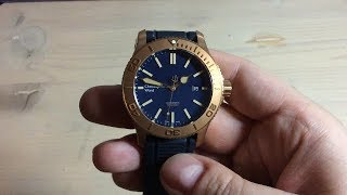 Christopher Ward C60 Trident Pro Bronze Edition Review