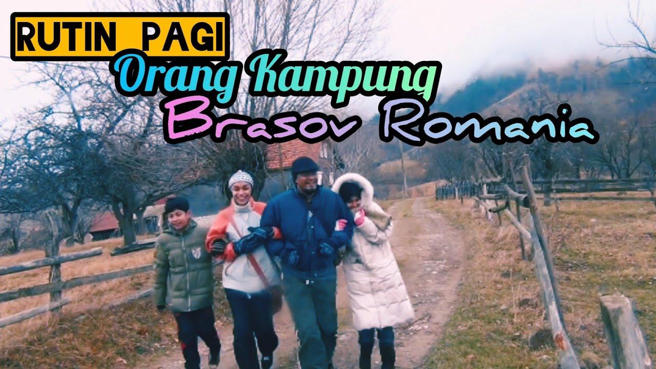 Mengembara ke Eropah | RUTIN PAGI ORANG KAMPUNG DI MAGURA |   BRASOV  ROMANIA ??