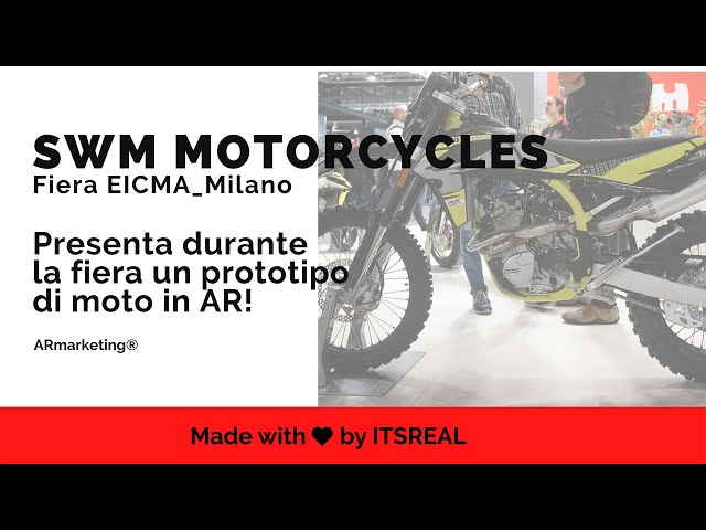 SWM | EVENTO EICMA | AUGMENTED REALITY EXPERIENCE