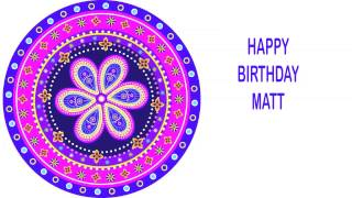 Matt   Indian Designs - Happy Birthday