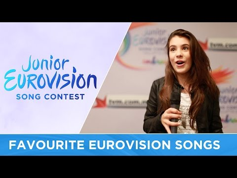 What are the favourite Eurovision songs of our contestants