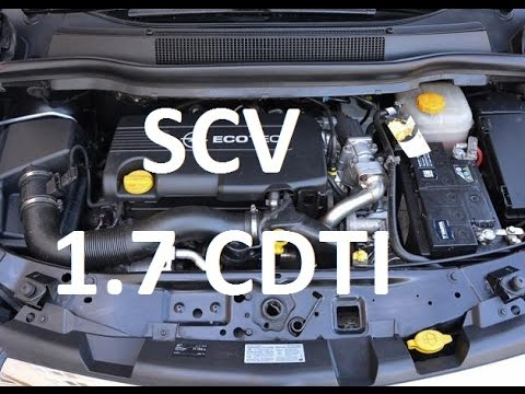 How To Replace Scv 1 7 Cdti Z17dtr Z17dtj A17dtr