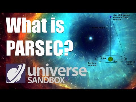 What is a PARSEC? - Universe Sandbox 2
