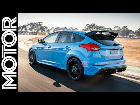 Ford Focus RS Limited Edition on-board - Winton Raceway | MOTOR
