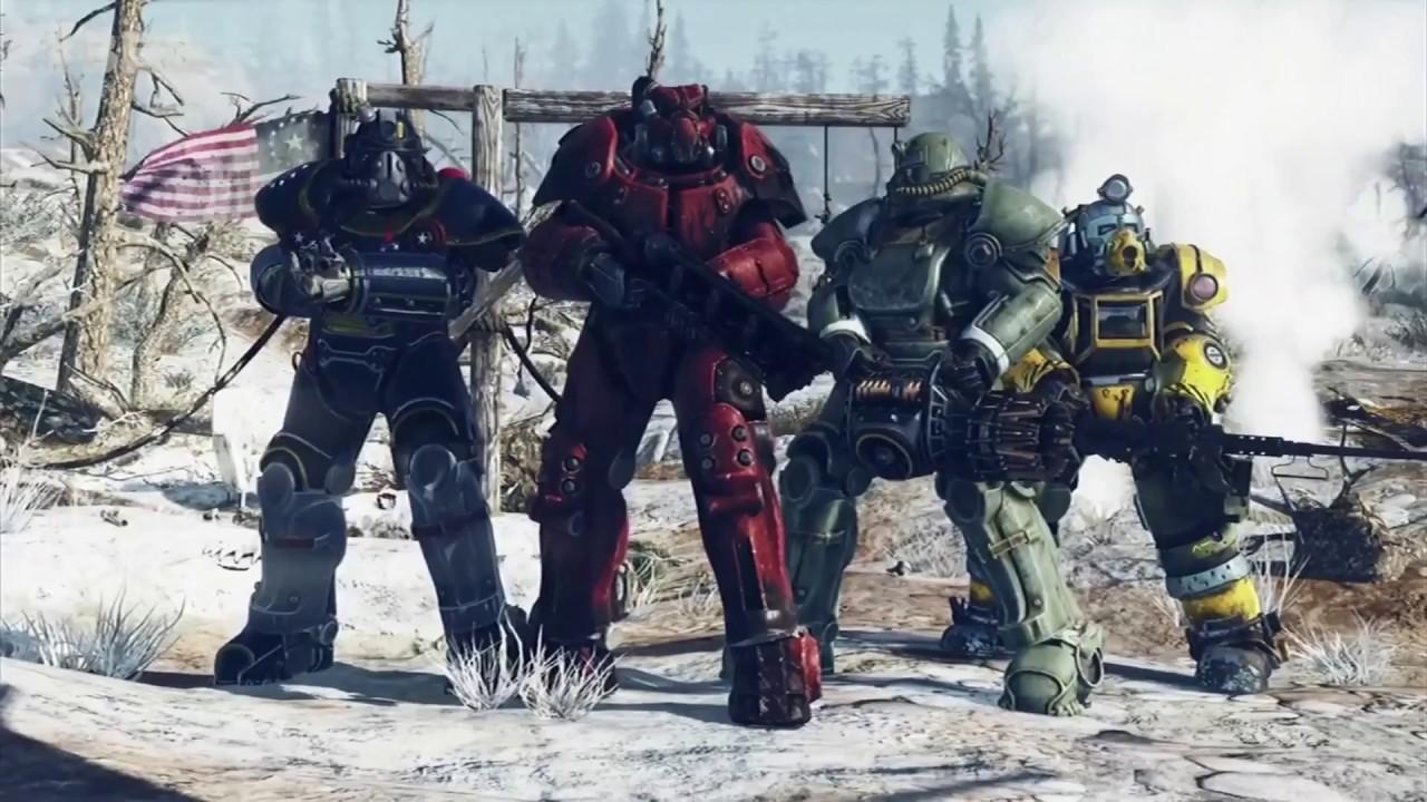 Fallout 76 Nuclear Trailer - E3 2018 - YouTube