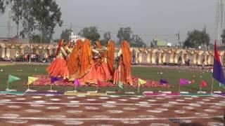 anglo vedic school bahjoi kumauni dance performance